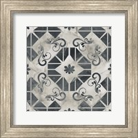 Framed Neutral Tile Collection VI