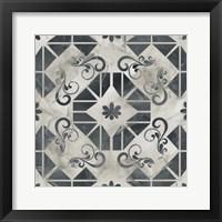 Framed Neutral Tile Collection VI