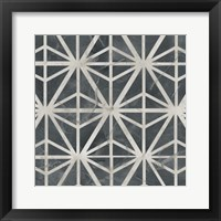 Neutral Tile Collection VII Framed Print