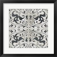 Framed Neutral Tile Collection VIII