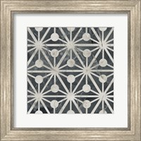 Framed Neutral Tile Collection IX