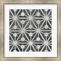 Framed Neutral Tile Collection IX