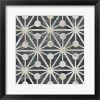 Neutral Tile Collection IX Framed Print