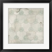 Framed Hexagon Tile III