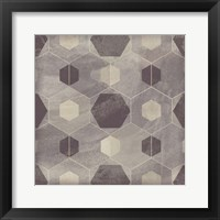 Framed Hexagon Tile IV