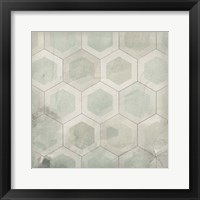 Framed Hexagon Tile VII