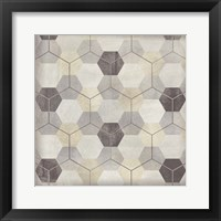 Framed Hexagon Tile VIII