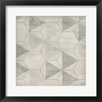 Framed Hexagon Tile IX