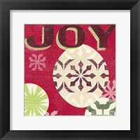 Let's Get Jolly IV Framed Print