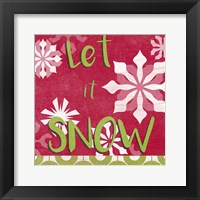 Let's Get Jolly VI Framed Print