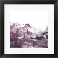 Framed Orchid Wave III