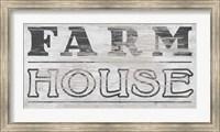 Framed Vintage Farmhouse Sign I