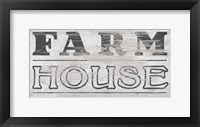 Framed Vintage Farmhouse Sign I
