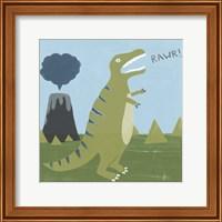 Framed Dino-mite I
