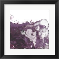 Framed Orchid Wave I