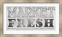 Framed Vintage Farmhouse Sign III