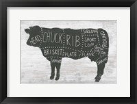 Framed Farmhouse Butcher II