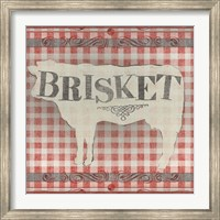 Framed Gingham BBQ II