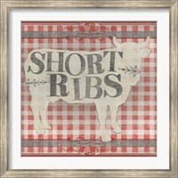 Framed Gingham BBQ III