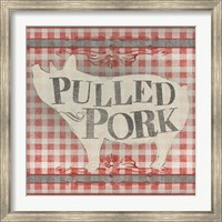 Framed Gingham BBQ IV
