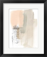 Framed Blush Abstract I
