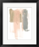 Framed Blush Abstract IV
