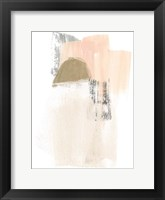 Framed Blush Abstract V