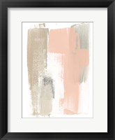 Framed Blush Abstract VI