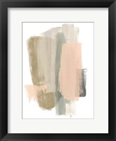 Framed Blush Abstract VII