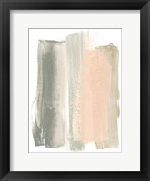 Framed Blush Abstract VIII