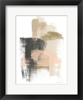 Framed Blush Abstract IX