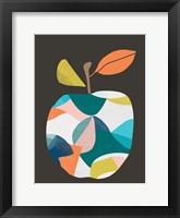 Framed Fab Fruit III