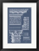Framed Column & Cornice Blueprint II