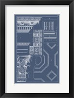 Framed Column & Cornice Blueprint IV