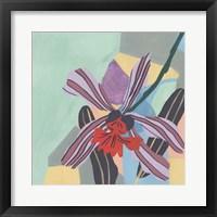 Framed Corner Flower II