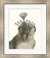 Framed Majestic Monkey II