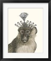 Majestic Monkey II Framed Print