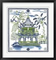 Framed Pagoda Visit I