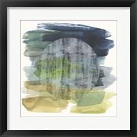 Framed Wax Moon II