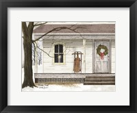 Framed Winter Porch
