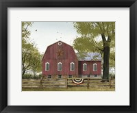 Framed Sweet Summertime Barn