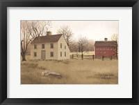 Framed New England Saltbox
