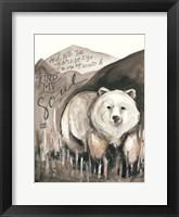 Framed Find My Soul Bear