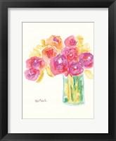 Framed Speak in Flowers
