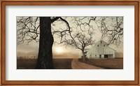 Framed Millersburg Sunrise