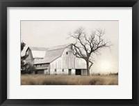 Framed Ohio Fields I