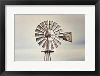 Framed Windmill Close-Up