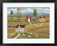 Framed Valley Flower Farms
