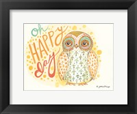 Framed Oh Happy Day