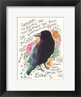 Framed Consider the Ravens